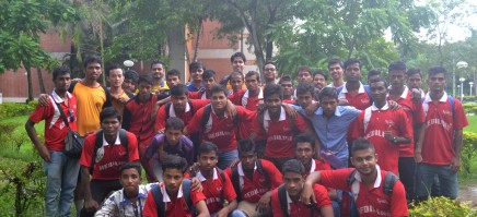 Football Match between Durbar Team and IIMC Students
