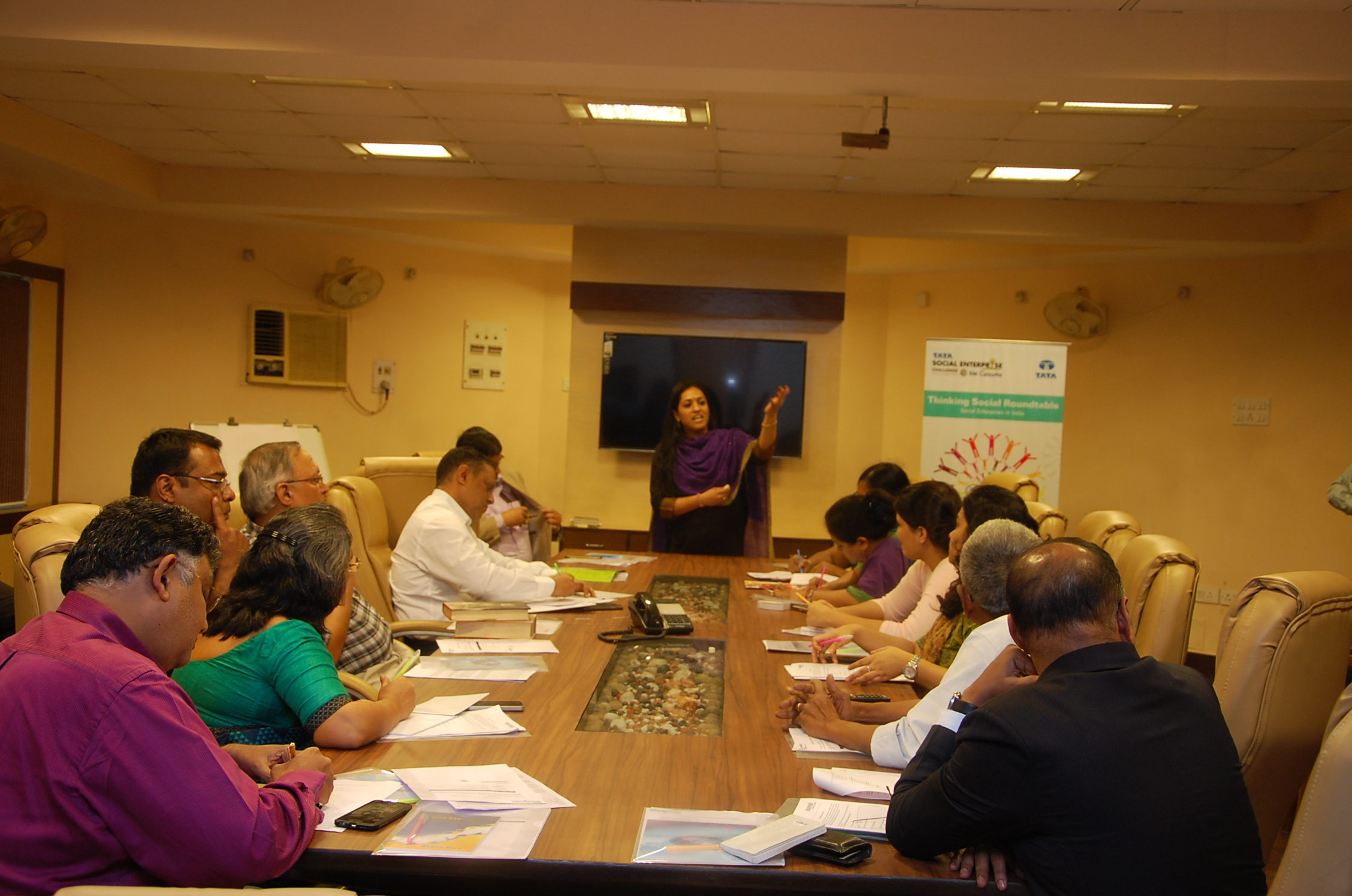 Roundtable on Social Enterprises in India on 30 November at Kolkata