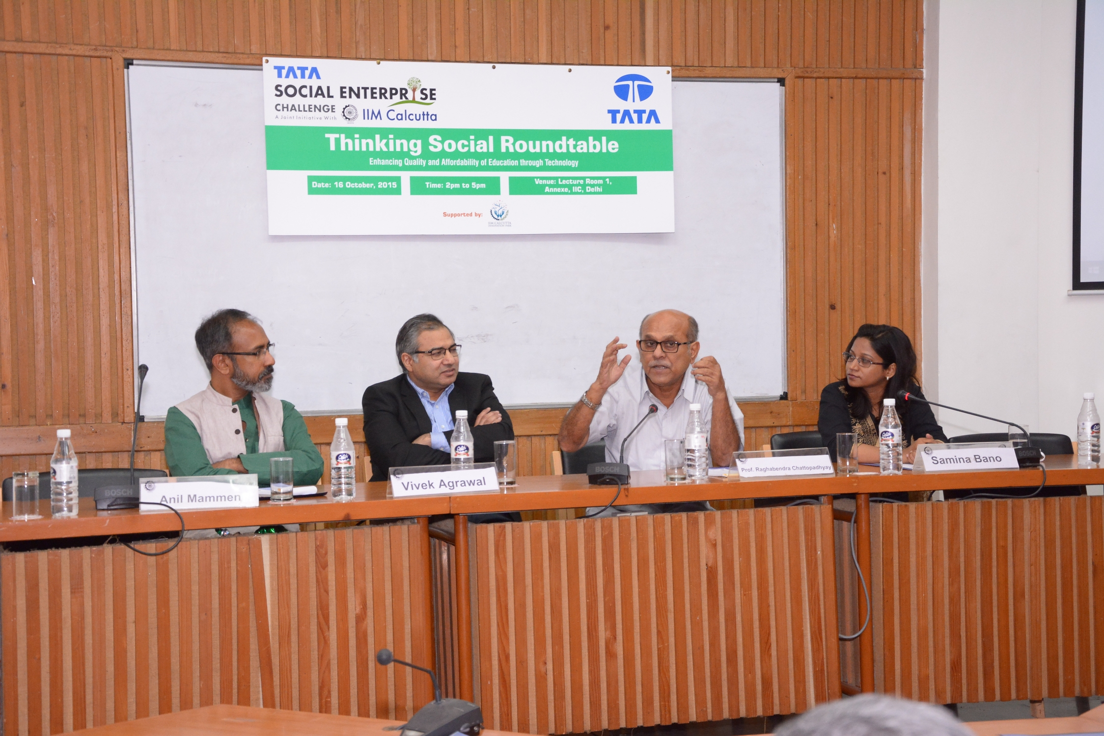 "Roundtable on ""Thinking Social"" – 16 October 2015 at Delhi"