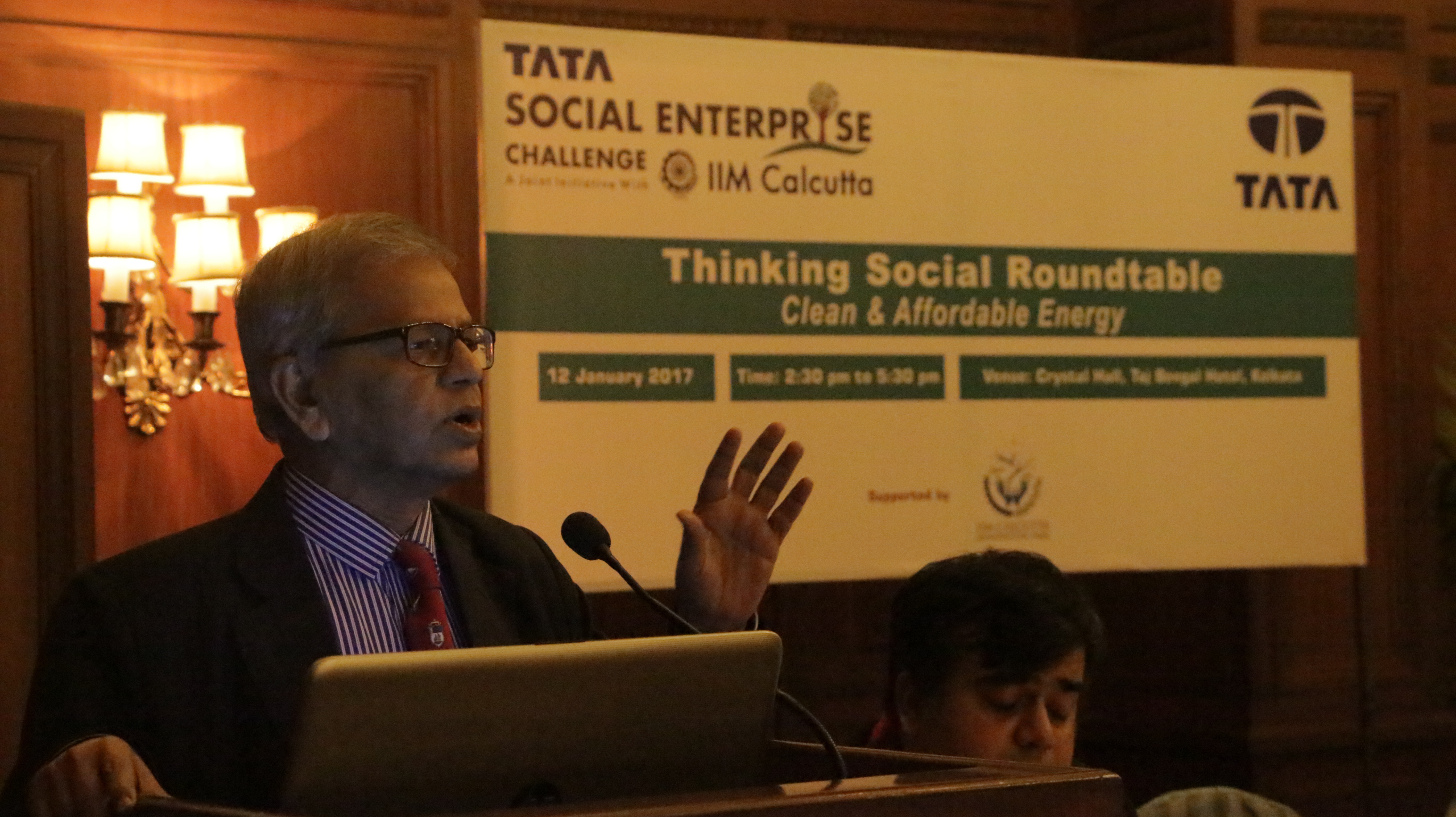 Thinking Social Roundtable – Kolkata, 12 Jan 2017