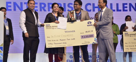 Winners of the Tata Social Enterprise Challenge 2017-18 (TSEC)